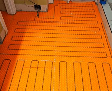 Floor Heating System Installation